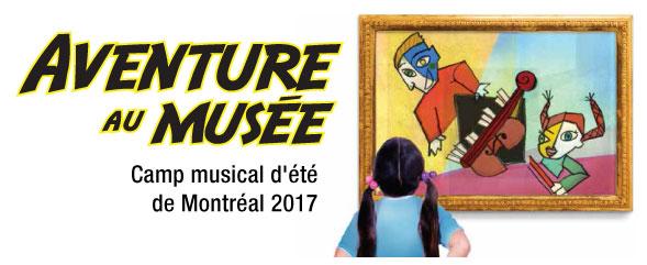 La période d'inscription au Camp musical d'été de Montréal 2017 est lancée !