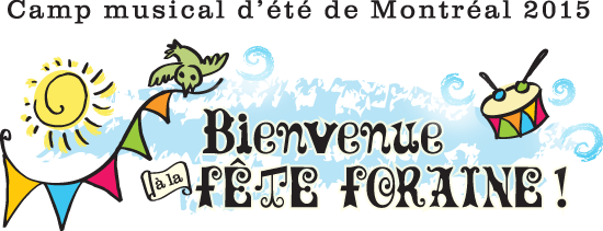 Inscription au Camp musical d'été 2015 !