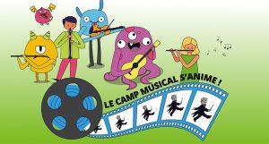 image Camp musical 2020